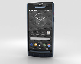 3D model of Vertu Signature Touch (2015) Pure Navy Alligator