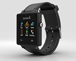 3D model of Garmin Vivoactive Black
