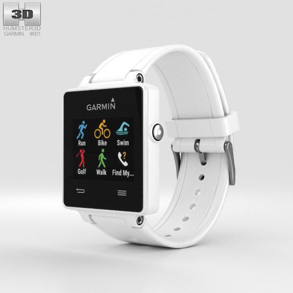 Garmin Vivoactive White 3D model