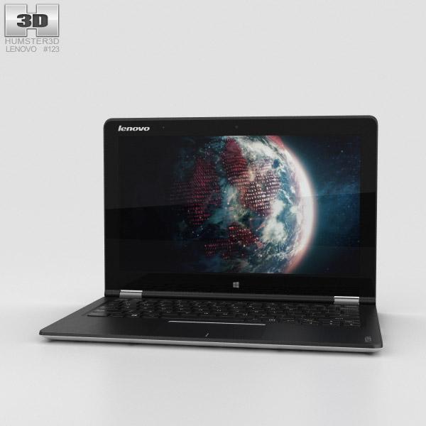 Lenovo Yoga Tablet 3 11 inch White 3D model
