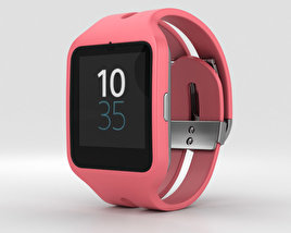 Sony SmartWatch 3 SWR50 Pink 3D model