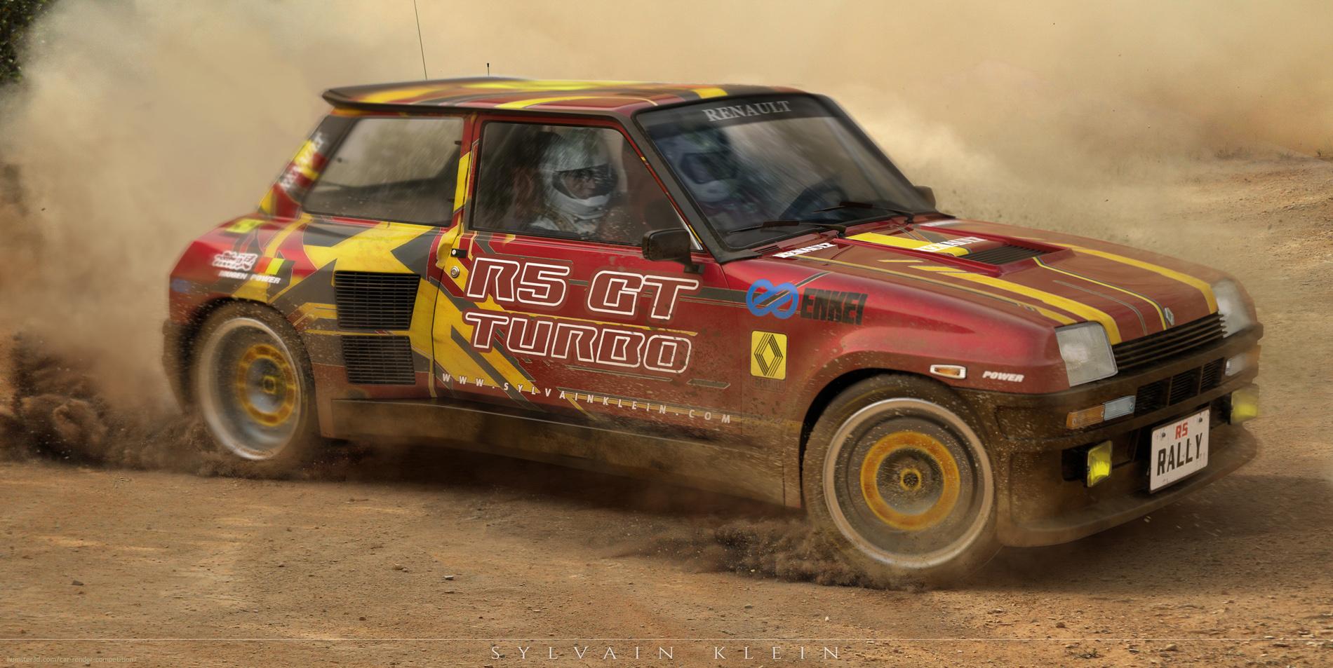 R5 GT Turbo 3d art