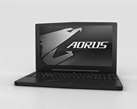 3D model of Aorus X5