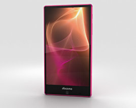 3D model of Sharp Aquos Zeta SH-01H Pink