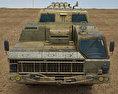 BM-30 Smerch 3d model