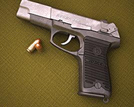 3D model of Ruger P90