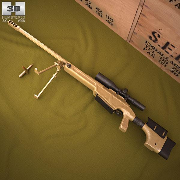 Sig Sauer 50 3D model