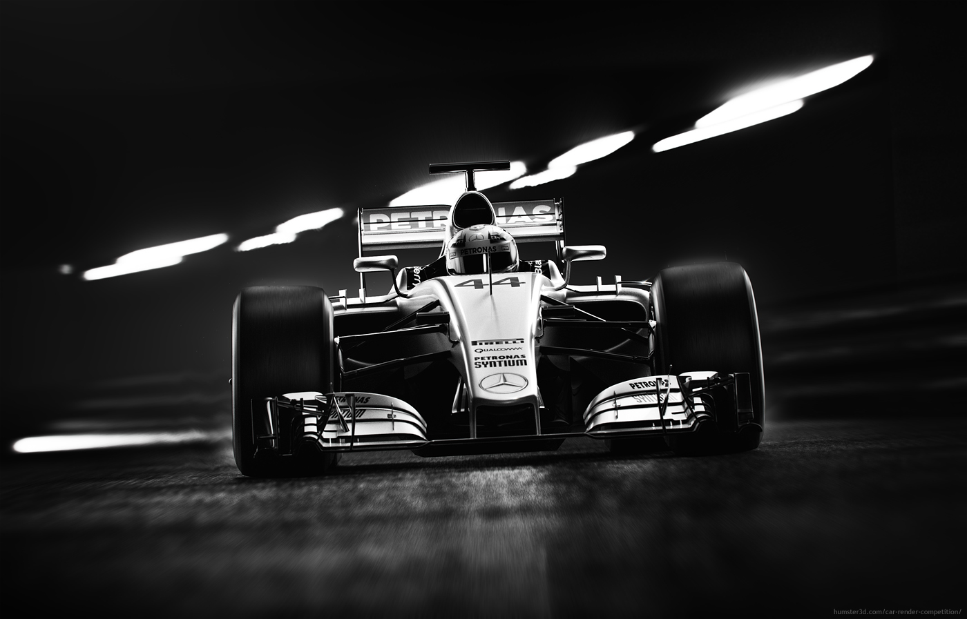 Monaco 3d art