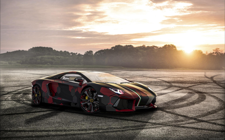 The Bull, Lamborghini Aventador 3d art