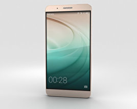 3D model of Huawei Honor 7i Gold