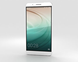 3D model of Huawei Honor 7i White