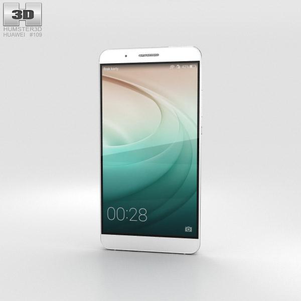 Huawei Honor 7i White 3D model