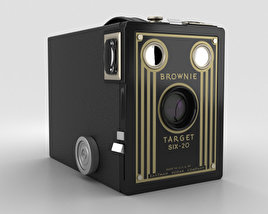 3D model of Kodak Brownie Target Six-20