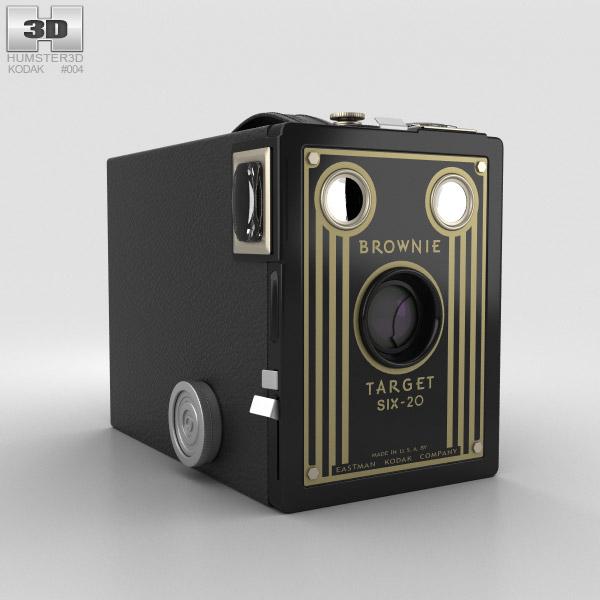Kodak Brownie Target Six-20 3D model