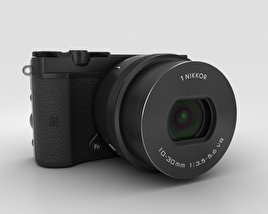 3D model of Nikon 1 J5 Black