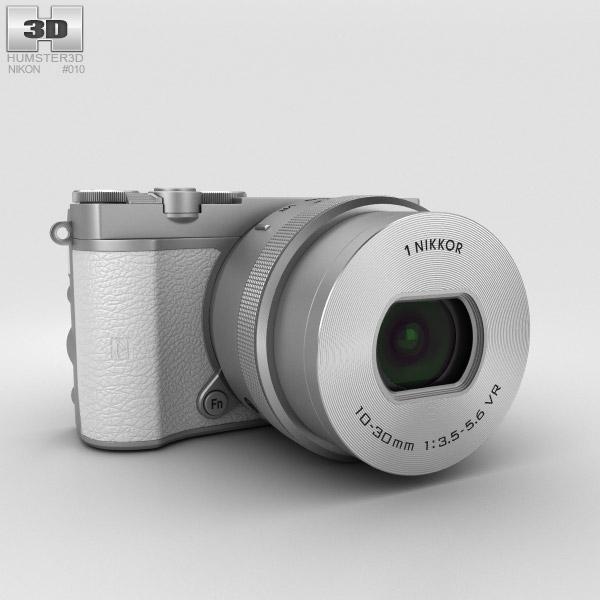Nikon 1 J5 White 3D model