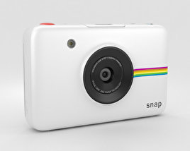 3D model of Polaroid Snap Instant Digital Camera White
