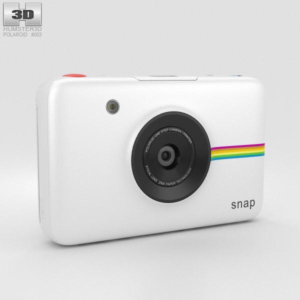 3D model of Polaroid Snap Instant Digital Camera White
