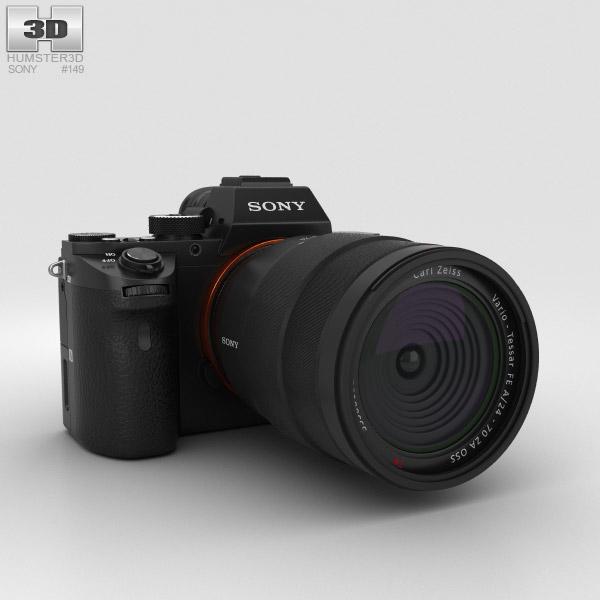 Sony a7R II 3D model