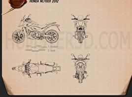 Honda NC700X 2012 Blueprint