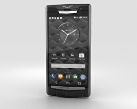 3D model of Vertu Signature Touch (2015) Clous De Paris Alligator