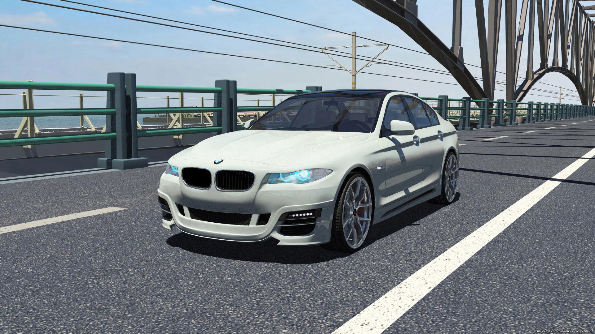 BMW M5 F10 3d art
