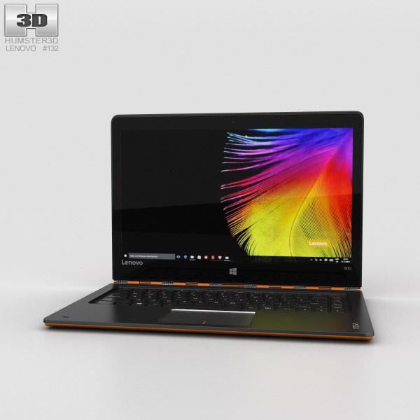 Lenovo Yoga 900 Orange 3D model