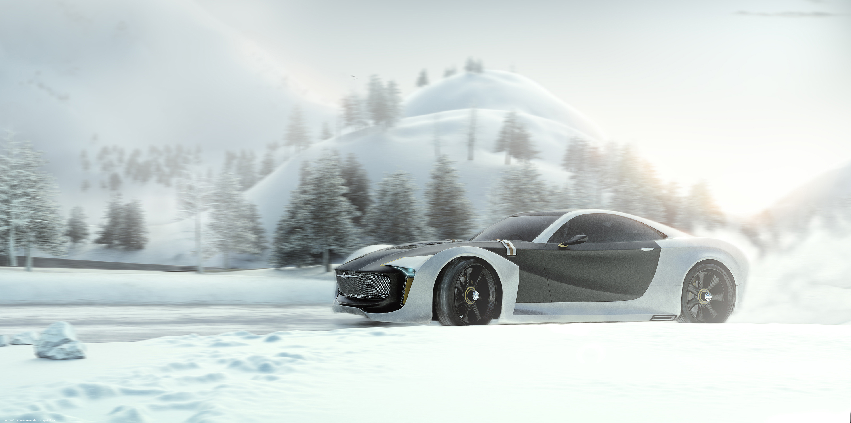 Illusion, Fun in the Snow 3d art