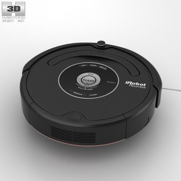 3D model of iRobot Roomba 581