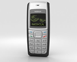 3D model of Nokia 1110 Black