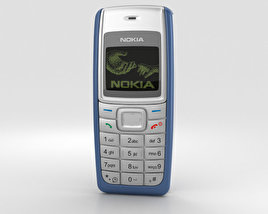 3D model of Nokia 1110 Blue