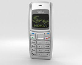 3D model of Nokia 1110 White
