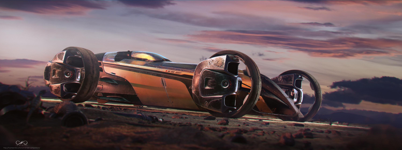Desert Runner 3d art