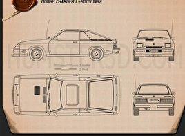 Dodge Charger L Body Lq X on 2001 Dodge Caravan Blueprint