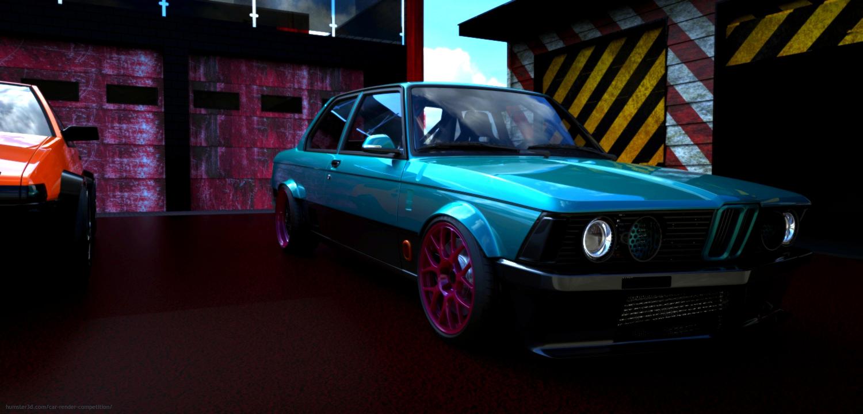 E21 M20 3d art