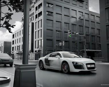 Audi R8 CGI