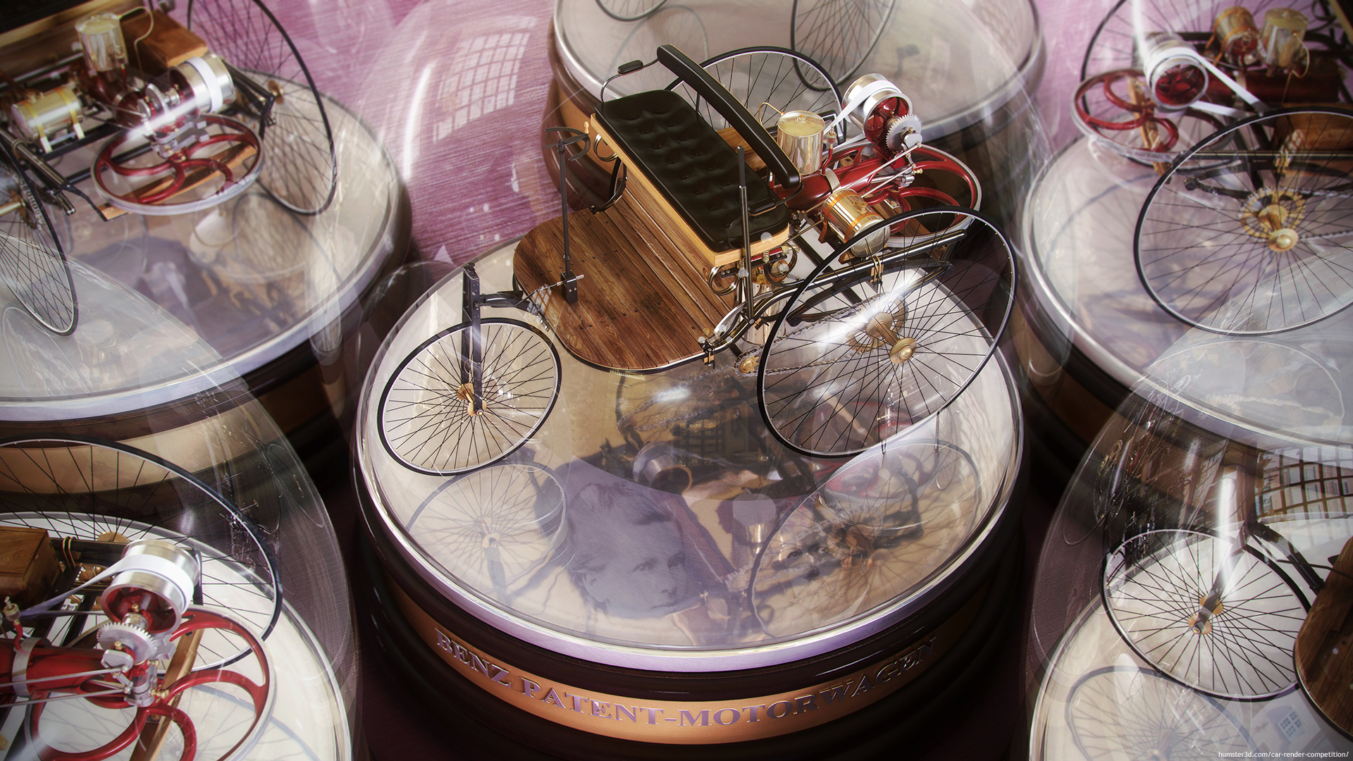 Benz Patent-Motorwagen 3d art