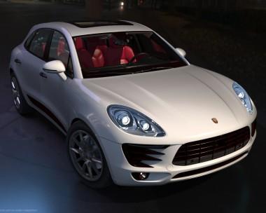Porsche Macan enlarged