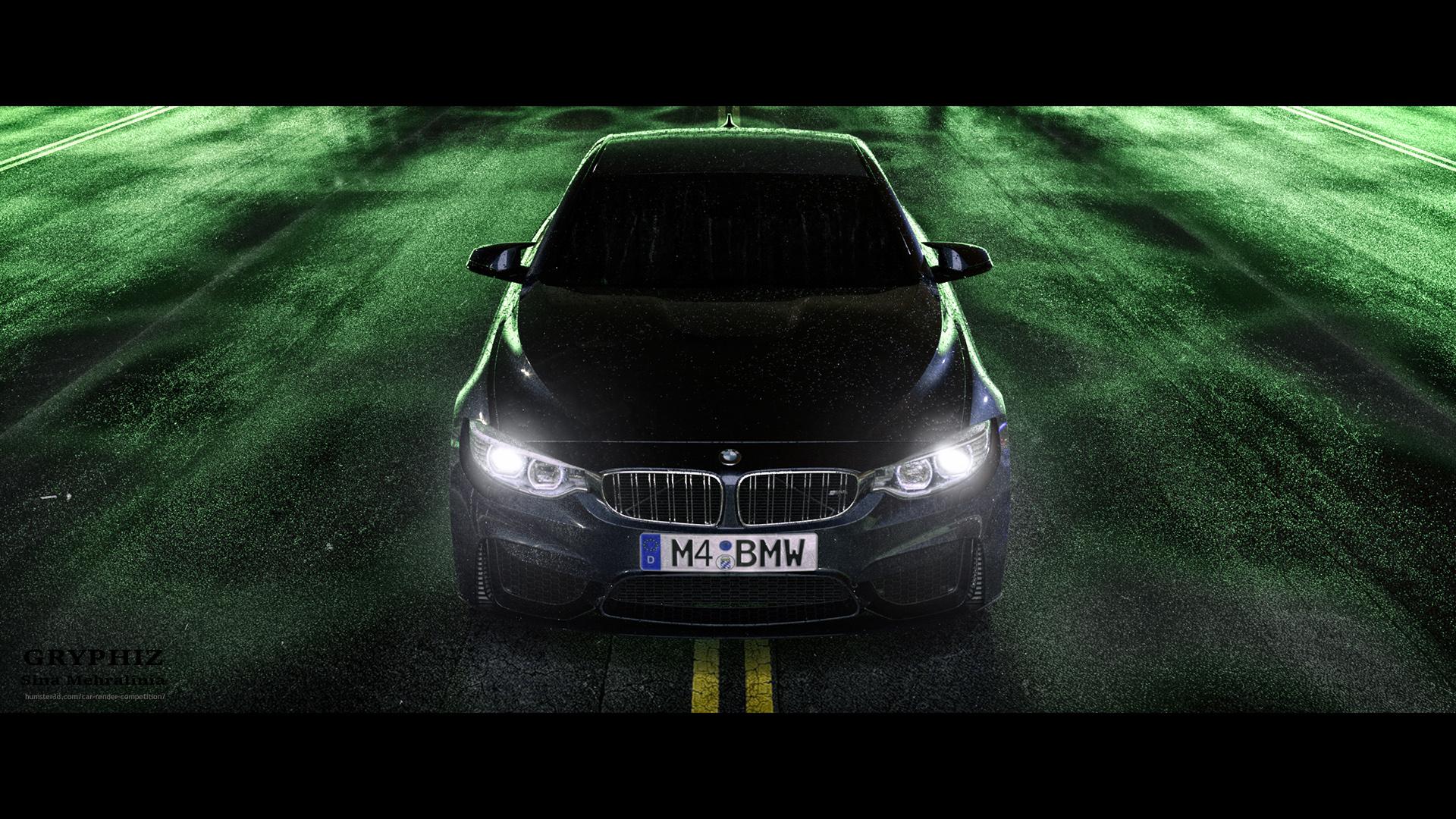 BMW M4 3d art
