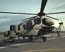 3D model of Agusta A129 Mangusta