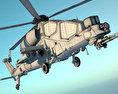 Agusta A129 Mangusta 3d model