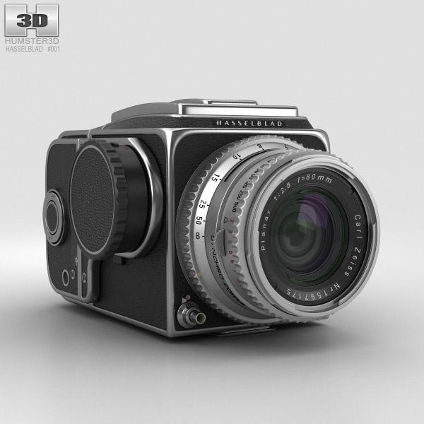 Hasselblad 500C 3D model