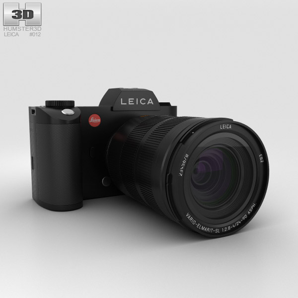 Leica SL (Typ 601) 3D model