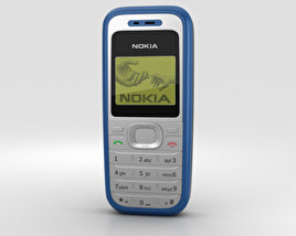 3D model of Nokia 1200 Blue