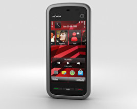 3D model of Nokia 5230 Black