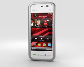 3D model of Nokia 5230 White