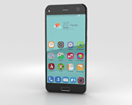 3D model of ZTE Blade S7 Space Gray