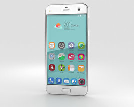 3D model of ZTE Blade S7 Diamond White