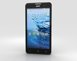 3D model of Acer Liquid Z520 Black