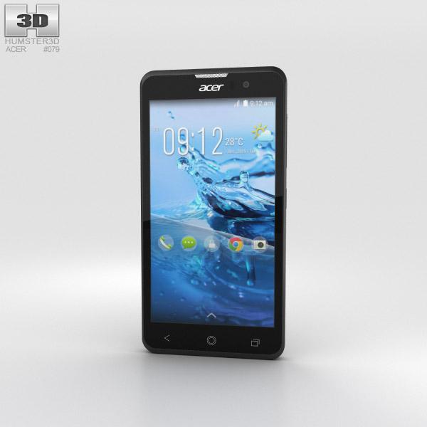 Acer Liquid Z520 Black 3D model